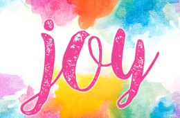 Joy. . .