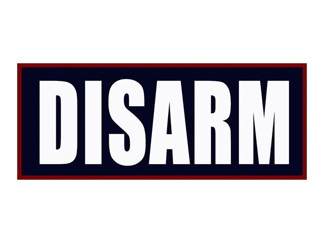 Disarm. . .