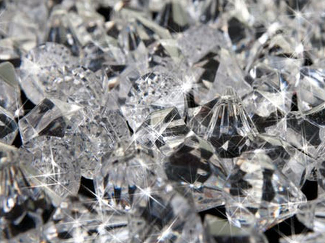 Diamonds. . .