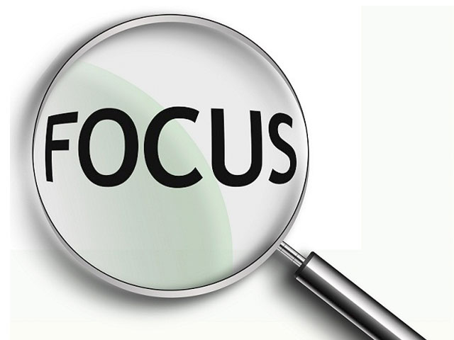 Five and Focus. . .