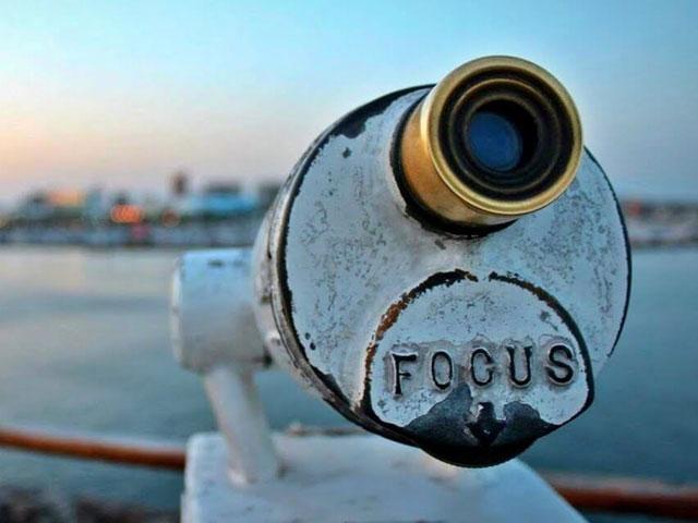 Focus. . .