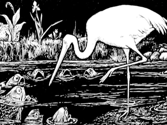 The Cruel Crane Outwitted. . .