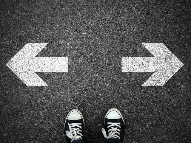 Towards or Away. . .