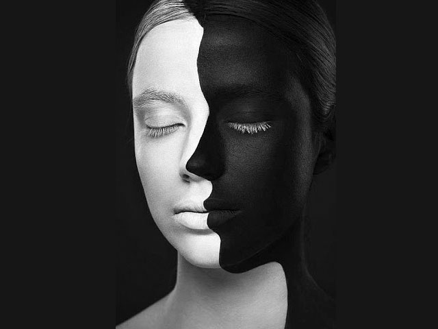 Two sides. . .