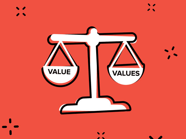 Two Values. . .