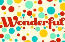 Something Wonderful. . .