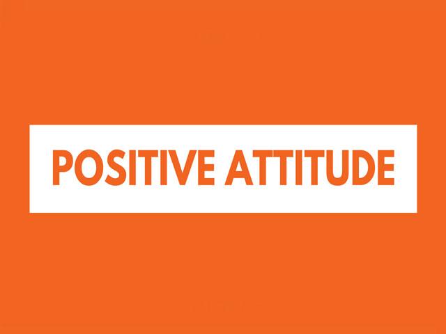 Attitude. . .