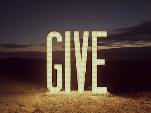 Give. . .