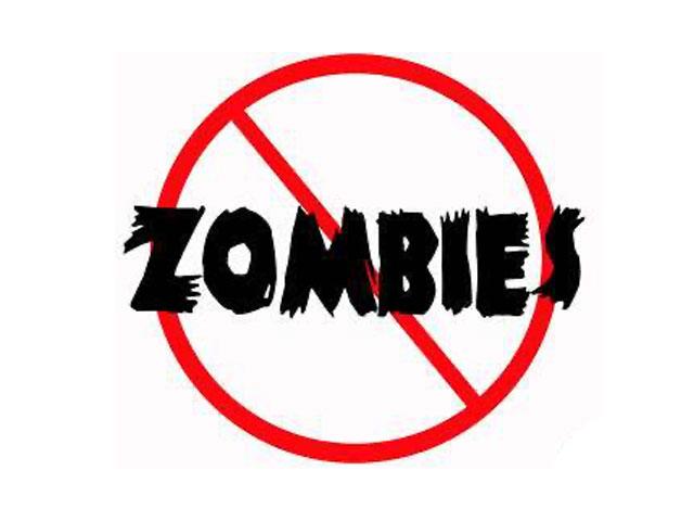 No More Zombies. . .