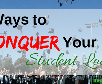 6 Ways to Conquer Your Student Loans