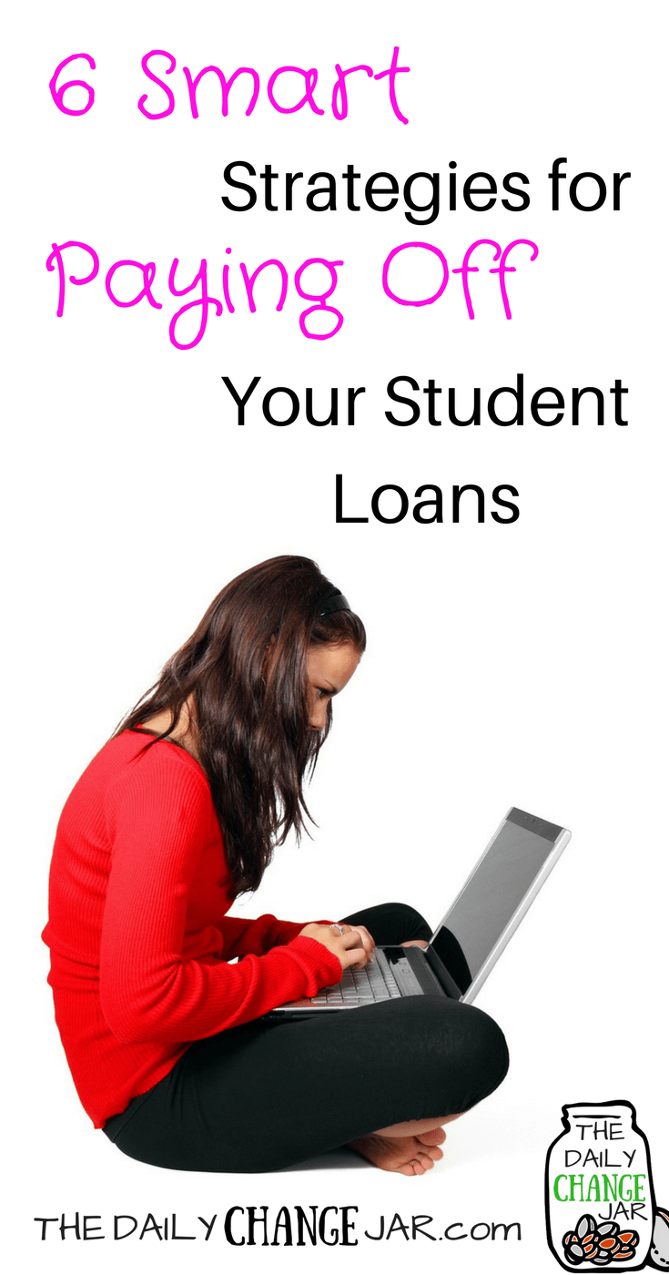 Do you have crushing student loan debt? In this post I show you how you can conquer your student loan debt once and for all! Click the image to see 6 ways to pay off your student loans faster! 401k   betterment   budget   debt   fidelity   financial independence   index funds   investing   ira   mortgage   personal capital   personal finance   real estate investing   retirement   roth ira   saving   side hustle   stock investing   student loans   vanguard   wealthfront   jobs   career   credit   bankruptcy