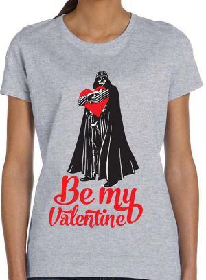 Be My Valentine Shirt Darth Vader Shirt Star Wars Shirt Star Wars Valentines Tee Valentines Gift for Valentines Gift for Star Wars Fan TH447
