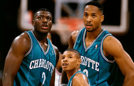 Share This Photo Of The 1993 Charlotte Hornets And We…