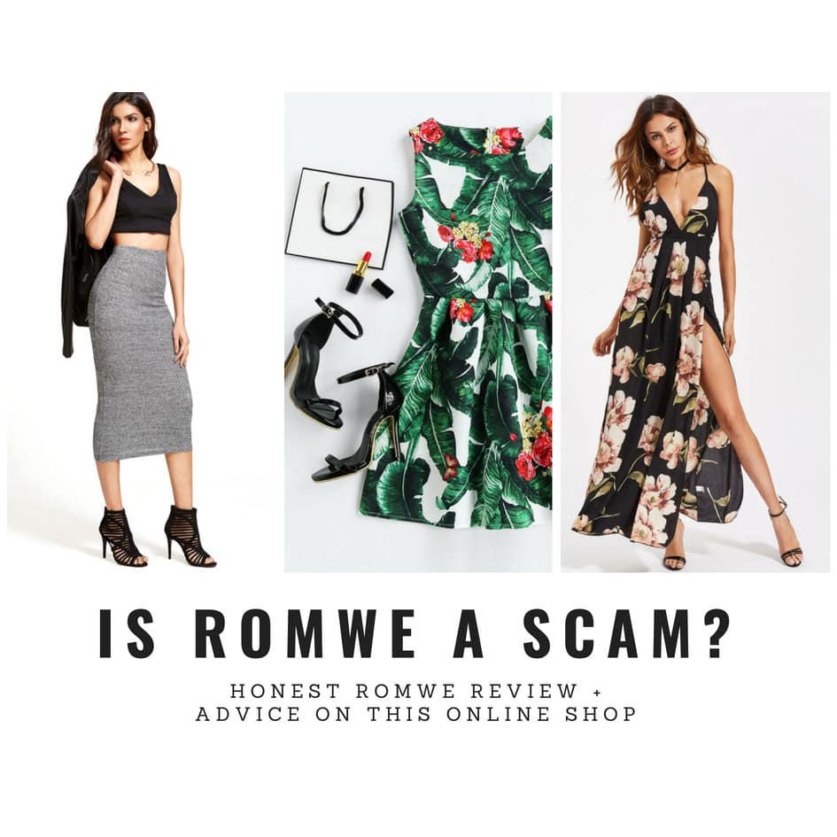 IS ROMWE LEGIT OR IS ROMWE CLOTHING A SCAM  2018 Is Romwe legit  Is it scam  Is Romwe a safe site  I ordered Romwe clothing  several times and on today s review I m answering you with my honest  opinion