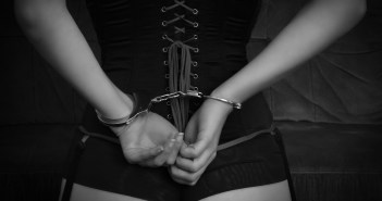 Even in Handcuffs Submissive Still Manages to Get Into Trouble