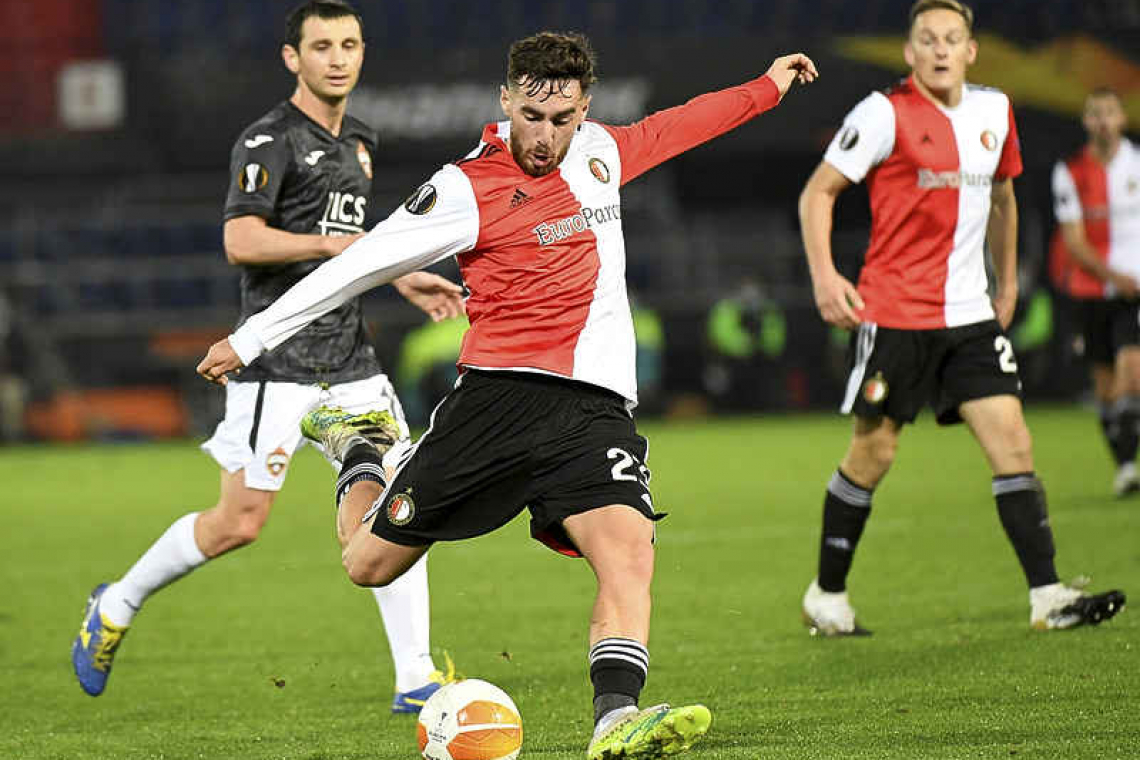 victory for feyenoord defeats for az