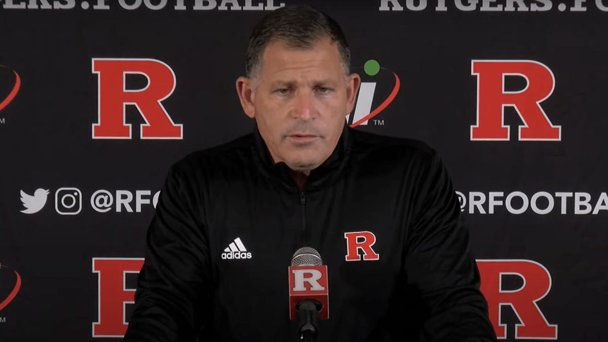 Watch: Rutgers' Greg Schiano previews Indiana