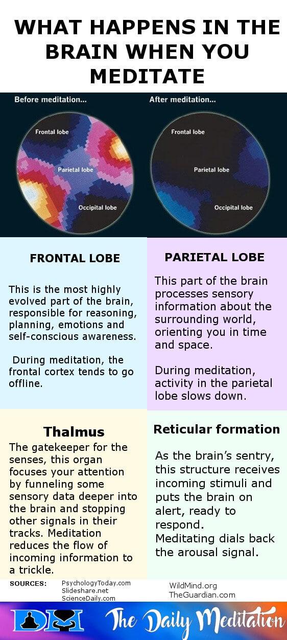 benefits of meditation on brain