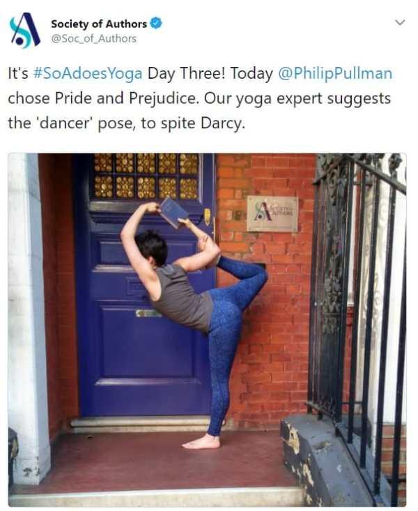 pride and prejudice yoga