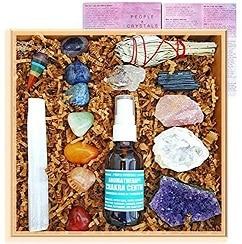 meditation crystals set