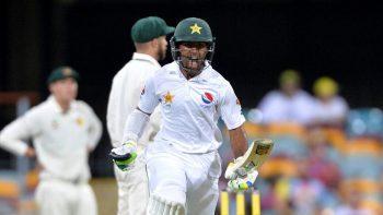 asad shafiq century against Australia