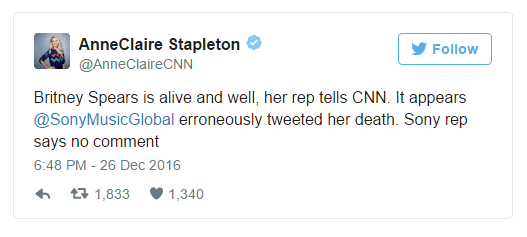 cnn tells britney is alive