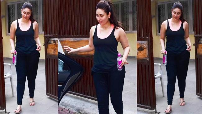 kareena kapoor losing her pregnancy weight