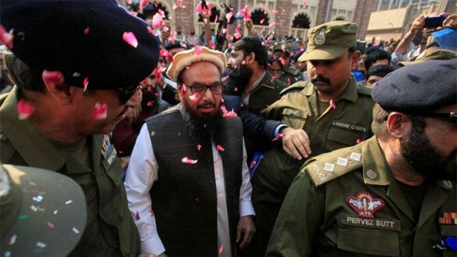 hafiz saeed kashmir pakistan army chief bajwa