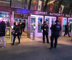 port authority NYC Explosion