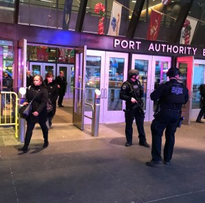 port authority NYC Explosion