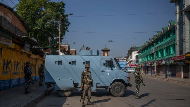 5 August Kashmir Lockdown Curfew