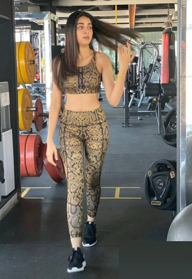Paksitani Actresses Gym