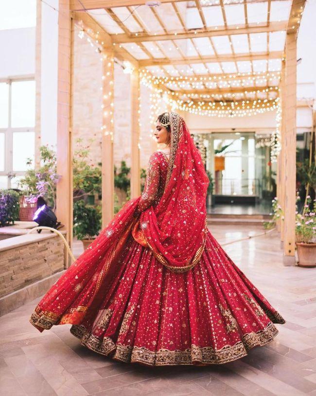 Bridal Photoshoot Minal Khan
