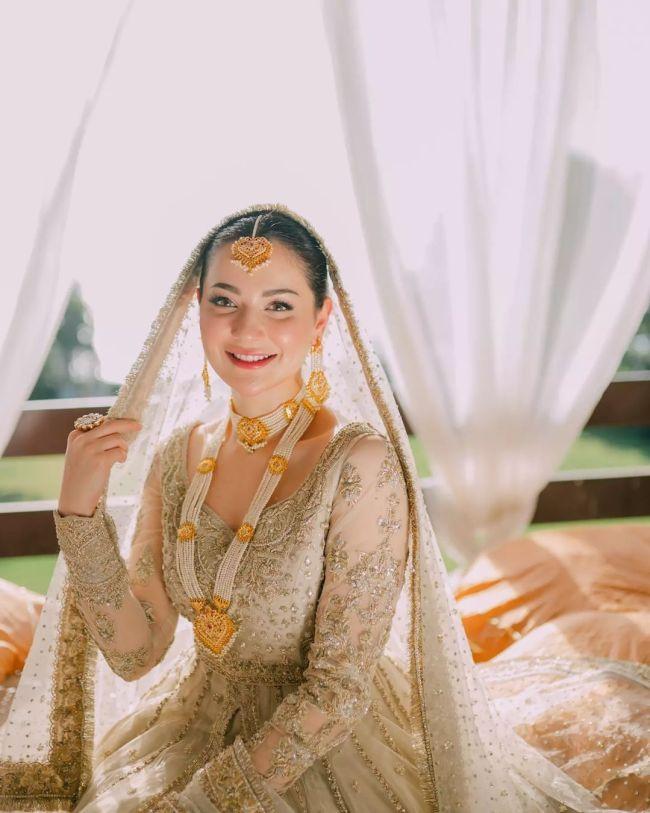 Hania Aamir Bridal Look