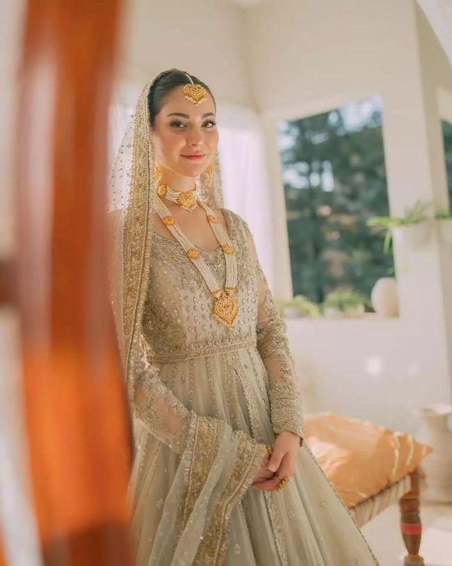 Hania Amir Allure Salon Bridal Photoshoot