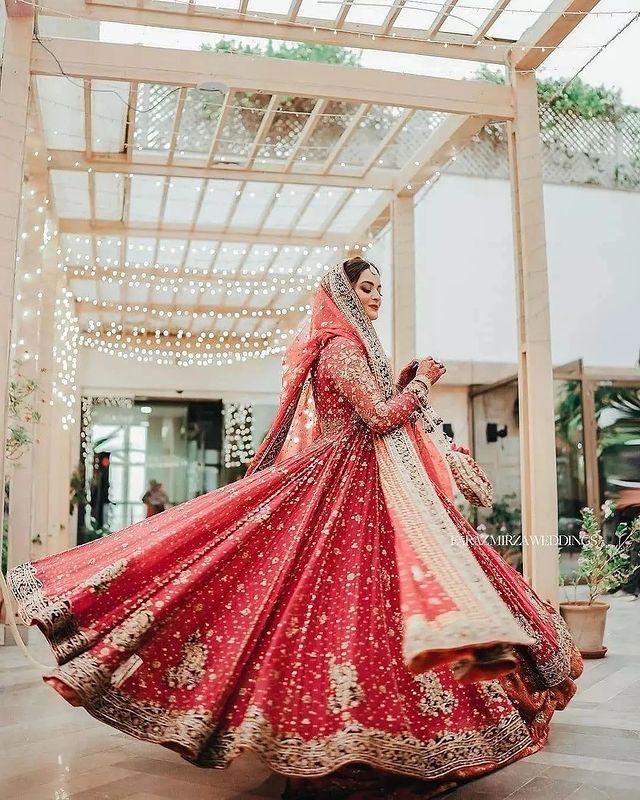 Minal Khan Bridal Pictures