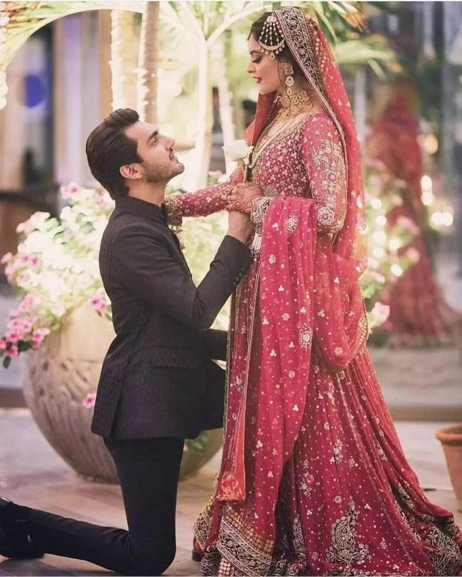 Minal Khan and Ahsan Wedding