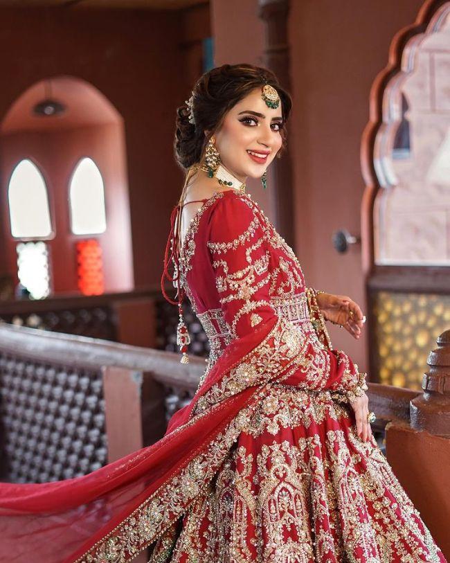 Saboor Aly Allure Salon Bridal Makeup