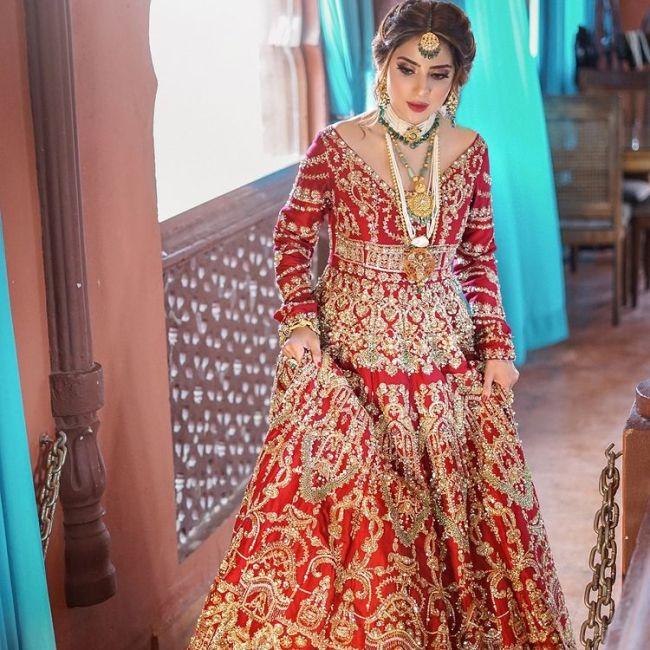 Saboor Aly Bridal Photos