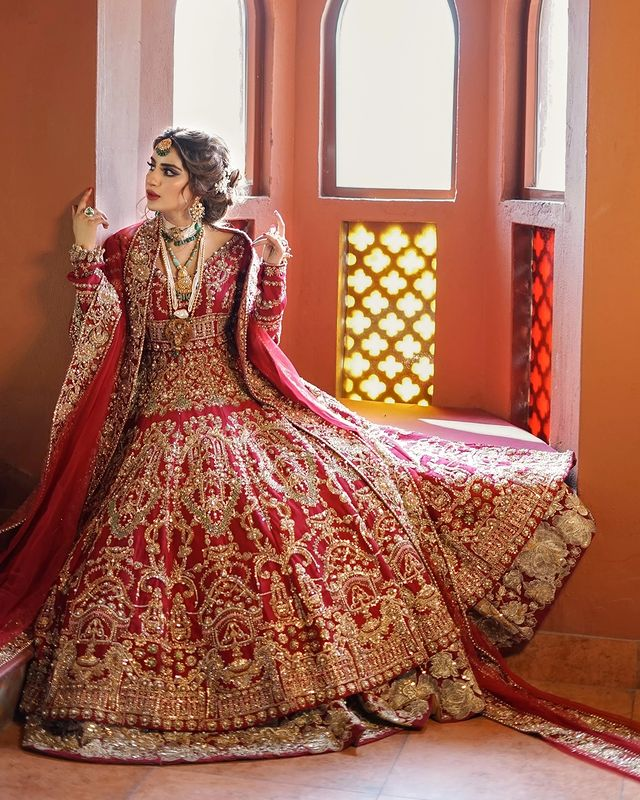 Saboor Aly Bridal Pictures Album
