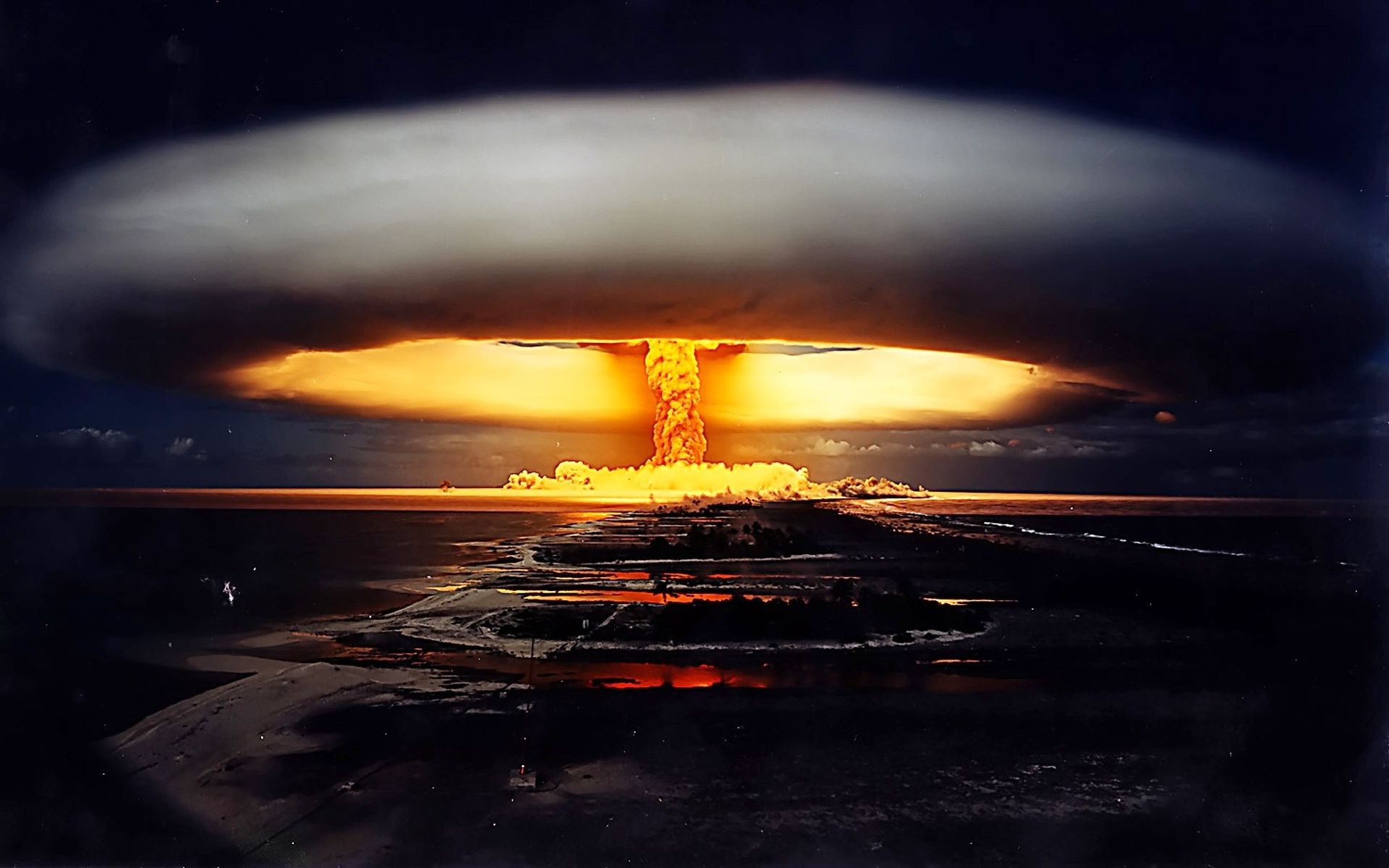 Image result for pics atomic explosions