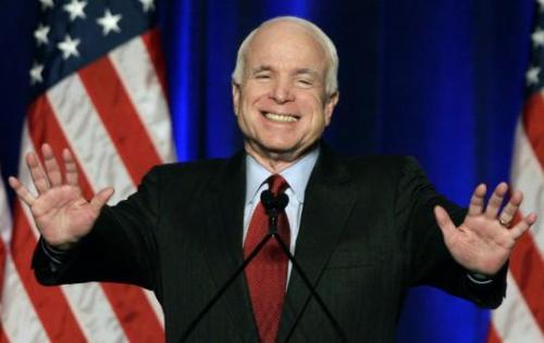 Senator John McCain (R) Arizona