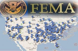 FEMA Camp map