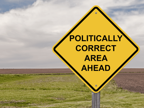 politically correct sign