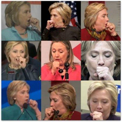 coughin-hillary