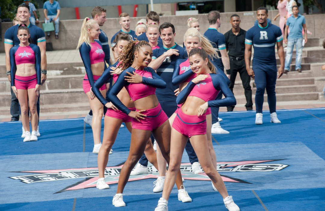 bring it on worldwide cheersmack cast reveal bts moments the