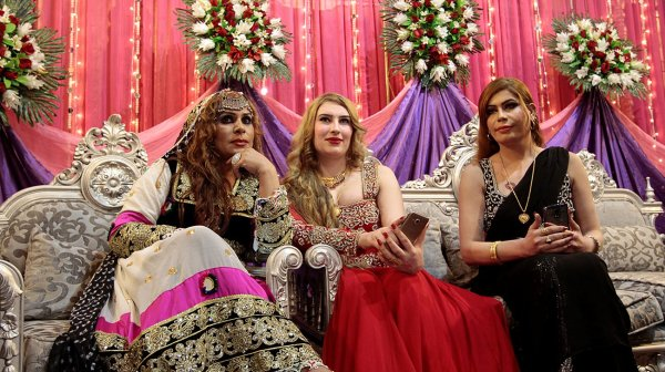 A transgender 'birthday' party in Pakistan