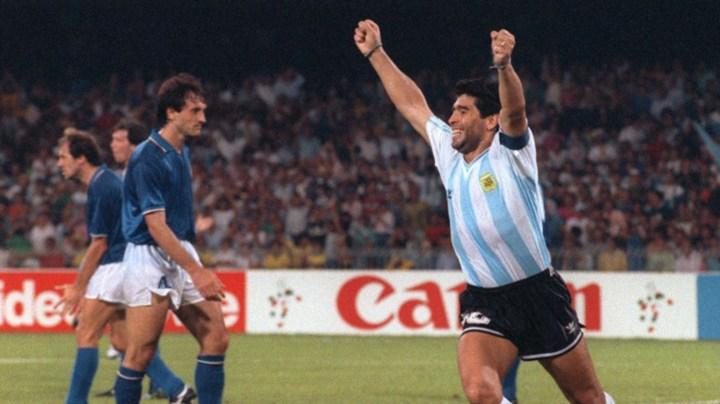 Maradona contro l'Italia | numerosettee.u