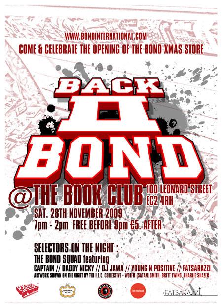 Bond is Back