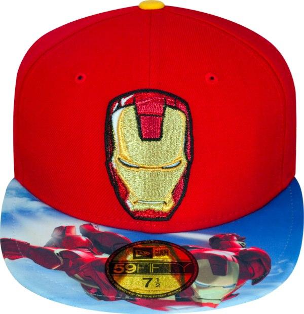 97410e10 New Era Cap 59Fifty x Ironman 2